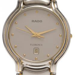 86c456612c4ef ساعة يد رجالية رادو فلورينس ستانلس ستيل رصاصي 32مم