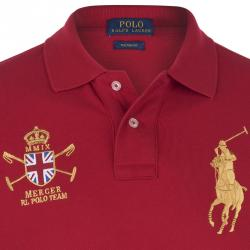 Polo Ralph Lauren Red Mercer Polo Team Shirt XL