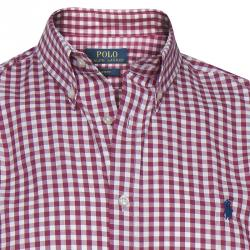 Polo Ralph Lauren Red Checked Long Sleeve Shirt L