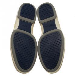 Salvatore Ferragamo Two Tone Leather Ricky Oxfords Size 43