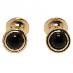 S.T. Dupont Gold-Plated Steel Men's Cufflinks