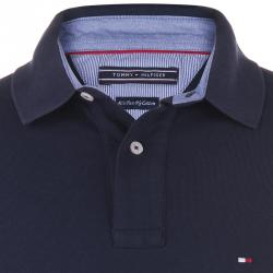 Tommy Hilfiger Navy Blue Logo Polo Shirt M