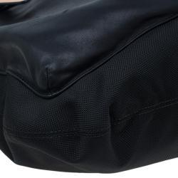 Tumi Black Nylon and Leather Santa Monica Whitfield Helmet Tote