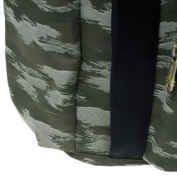 Tumi Navy Green Nylon Alpha Bravo Lejeune Backpack