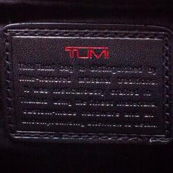 Tumi Black Nylon Carry On Garment Rolling Suitcase