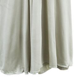 Alberta Ferretti Beige Embellished Maxi Dress M
