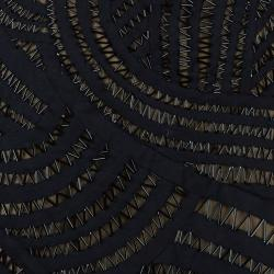 Alberta Ferretti Embellished Sleeveless Cocktail Dress L