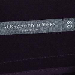 Alexander McQueen Purple Tailored Trousers S
