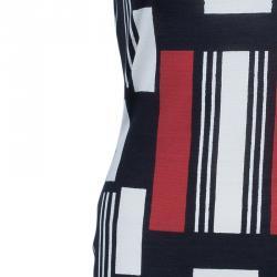 Alexander McQueen Geometric Print Dress L