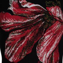 Alexander McQueen Floral Fit & Flare Dress XS