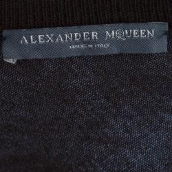 Alexander McQueen Brown Cashmere Bolero and Top Set S/M