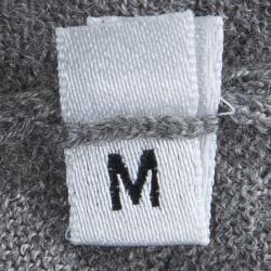 Alexander McQueen Grey Cashmere Bolero and Top Set S/M