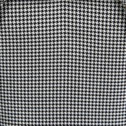 Alexander McQueen Monochrome Houndstooth Power Shoulder Dress M