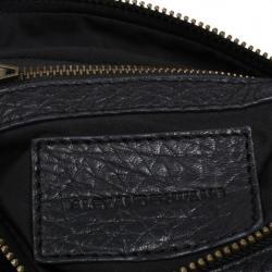 Alexander Wang Black Leather Rockie Bag