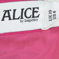 فستان واسع آليس باي تمبرلي فرانسواز وردي مزركش M