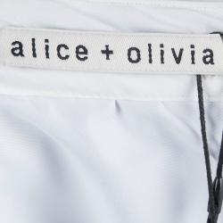 تنورة أليس + أوليفيا كاميل منقط بطيات S