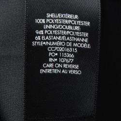 تنورة أليس + أوليفيا لافيرا سوداء طبقات مكشكشة غير متساوية S