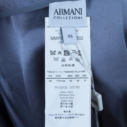 Armani Collezioni Charcoal Wide Leg Trousers M