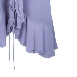 Armani Collezioni Lilac Wrap Dress M