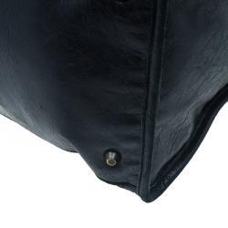 Balenciaga Black Leather Giant City Bag