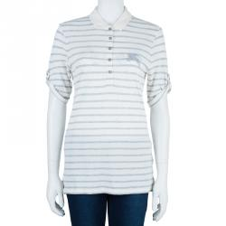Burberry Brit Striped Polo Shirt S