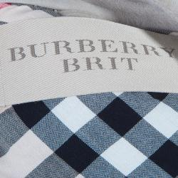 Burberry Brit Beige Shearling Aviator Jacket M
