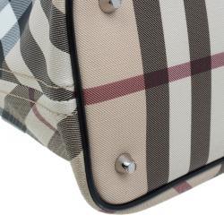 Burberry Beige Nova check Regent Tote Bag