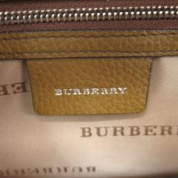 Burberry Supernova Check Coated Canvas and Fabric Orchard Bowling Boston