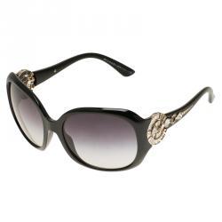 Bvlgari Black Limited Edition Crystal Embellished Sunglasses