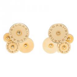 Bvlgari Cicladi Yellow Gold Clip Earrings