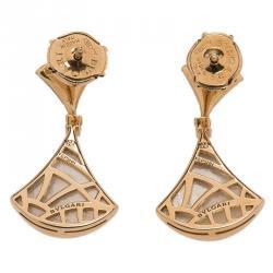 Bvlgari Divas' Dream Mother of Pearl, Diamond and Rose Gold Earrings