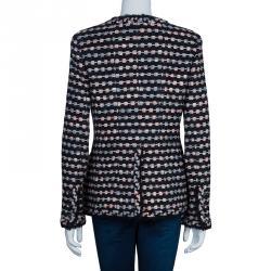 Chanel Black Tweed Jacket M