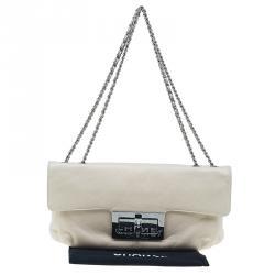 Chanel Beige Leather Duchess Shoulder Bag