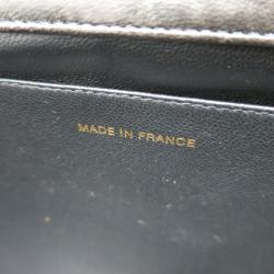 Chanel Black Quilted Patent Leather Shopping Tote