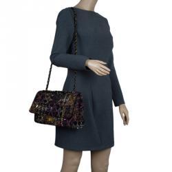 186a798b7baa Chanel Multicolor Lesage Tweed Jewel Encrusted 2.55 Reissue Classic 227 Flap  Bag
