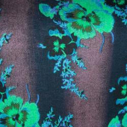 Christopher Kane Multicolor Floral Printed T-Shirt S