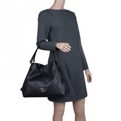 Coach Black leather Edie shoulder bag 31