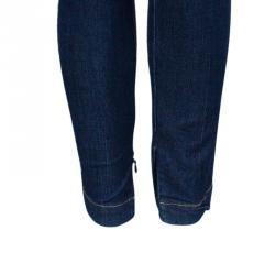 D and G Blue Skinny Zip Hem Denim Pants M