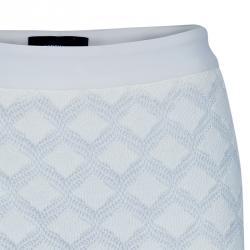 Derek Lam White Crochet Skirt S