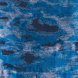 Derek Lam Silk Jacquard Halter Neck Dress L