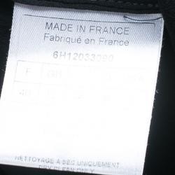 Dior Black Maxi Skirt M