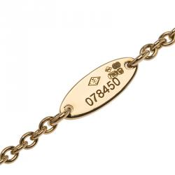 Dior Rose des Vents Diamond Turquoise Yellow Gold Bracelet