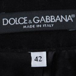Dolce and Gabbana Black Lace Shorts M