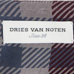 Dries Van Noten Fringe Detail Sequin Embellished Sleeveless Top M