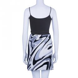 Emilio Pucci Printed A-Line Skirt S