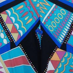Emilio Pucci Patterned Jersey Shift Dress M