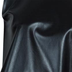Essa Walla Black Sleeveless Pleather Top S/M