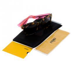 Fendi Pink and Tortoise Frame FF0025 Wayfarers