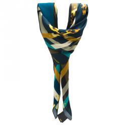 Fendi multicolor Printed Silk Scarf
