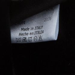 Giorgio Armani Black Velvet/Satin Bow Clutch